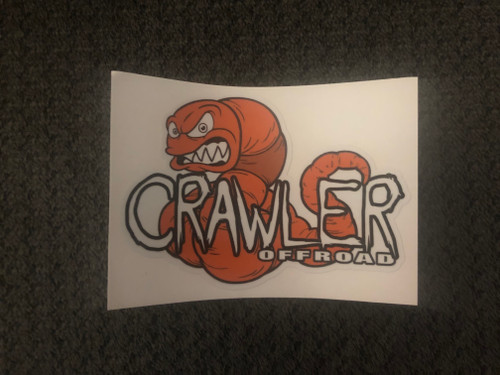 Worm Decal