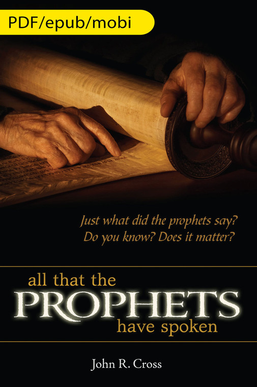 All that the Prophets have Spoken (English) eBook Edition