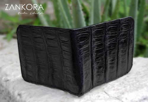 Crocodile Leather Wallet by ZANKORA