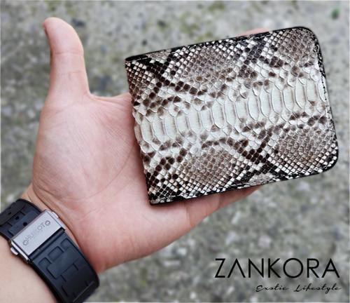 Python Leather Wallet by ZANKORA