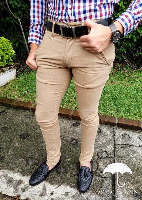 Skinny Beige Pant
