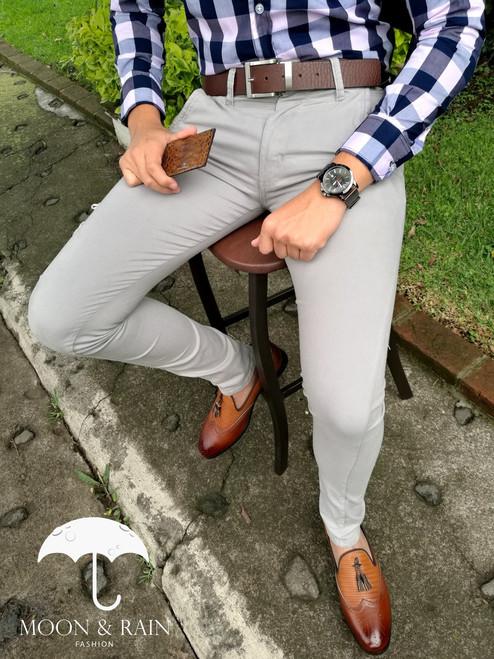 Skinny Gray Pant