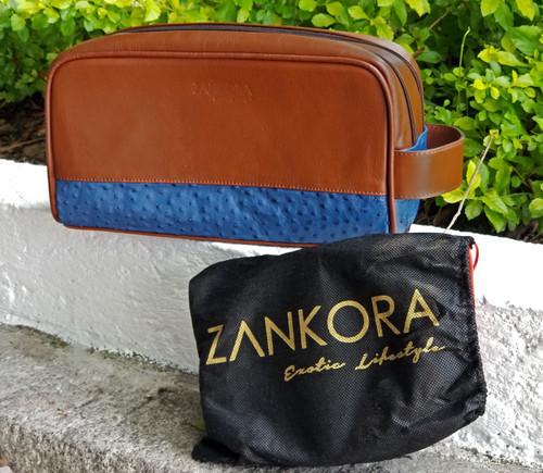 Travel Bag Ostrich leather by ZANKORA