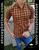 Short Sleeve Slim Fit Shirt Black/Orange by Moon & Rain