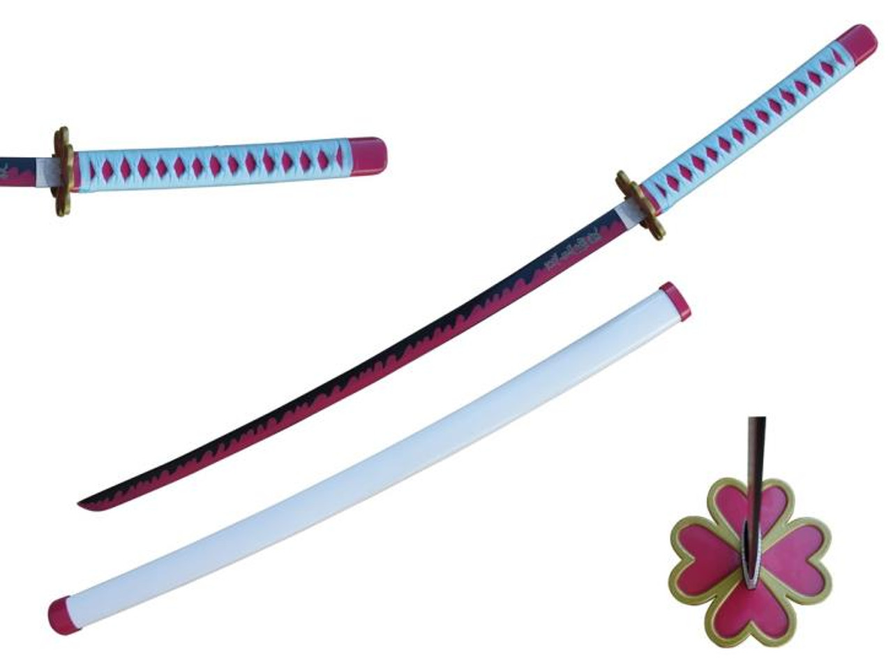 Demon Slayer Anime Mitsuri Kanroji Katana Sword Pure Blades Camelot stay in top 10 (dec 14, 2020). demon slayer anime mitsuri kanroji katana sword