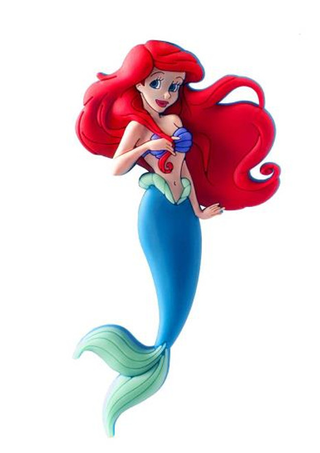 Magnet - Disney Little Mermaid Ariel Soft Touch PVC