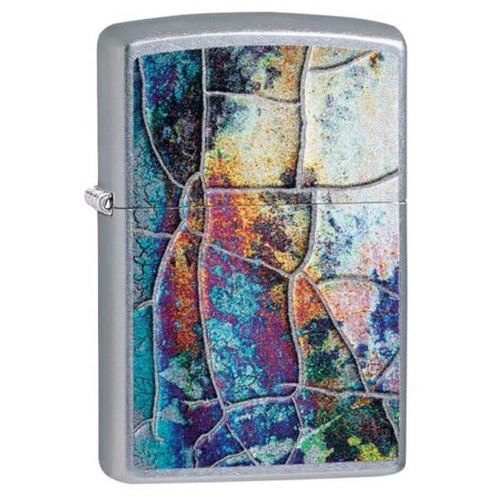 Abstract Color Zippo