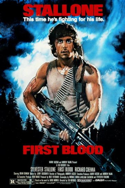 """Rambo """"First Blood"""" Poster"""