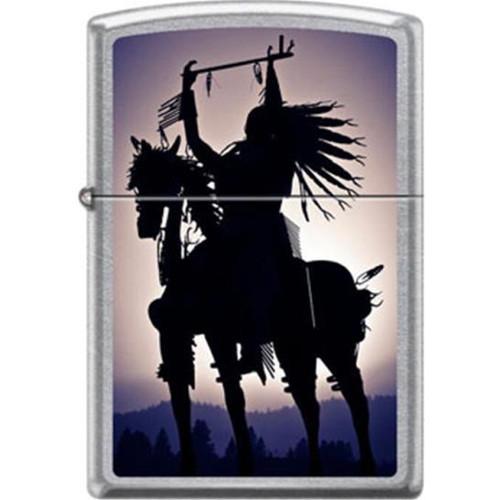 Indian on Horse Zippo