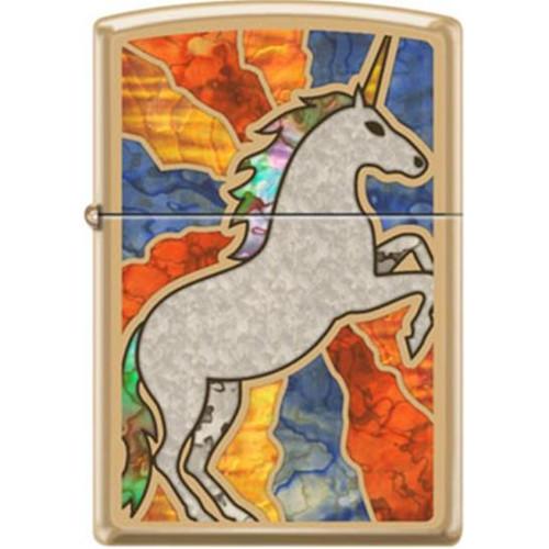 Fuzion Unicorn Zippo