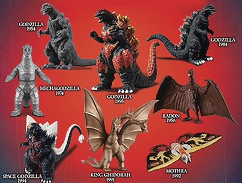 Godzilla Assorted Series 1 Blind Bag Mini Figure
