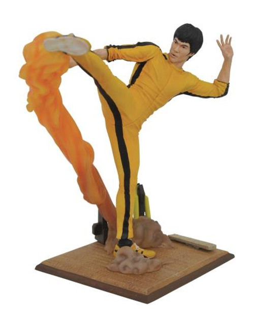 Bruce Lee Gallery Kicking Statue