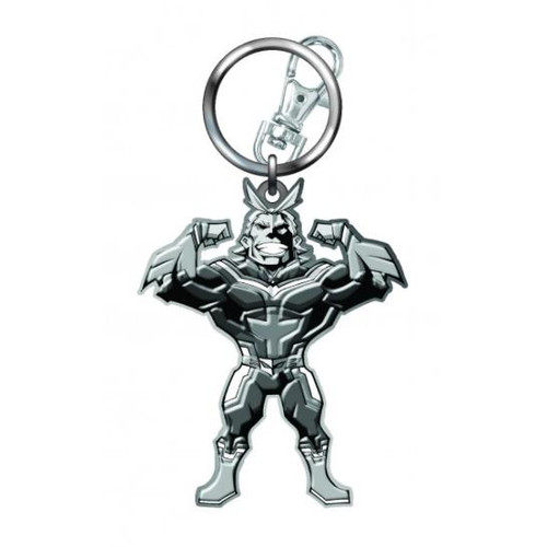 My Hero Academia All Might Pewter Keychain