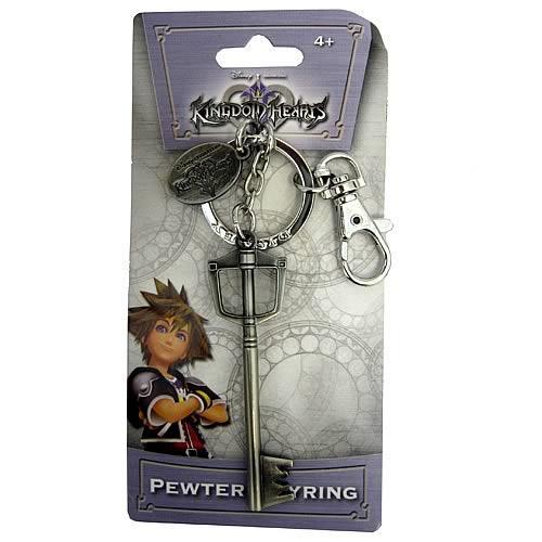 Kingdom Hearts Sora's Key Blade Pewter Keychain