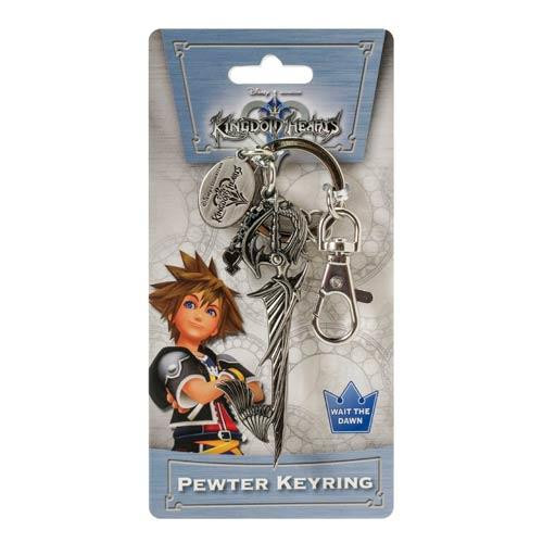 Kingdom Hearts Sora's Sword Pewter Keychain