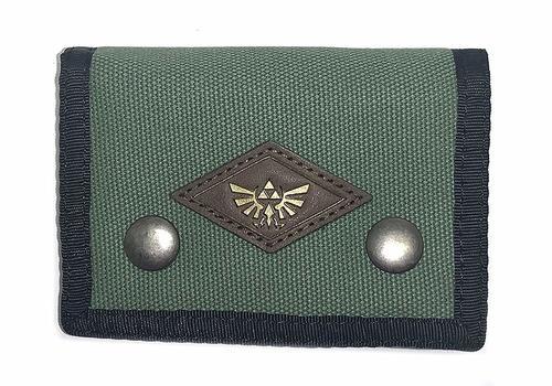 Zelda Logo Tri-Fold (Green) Wallet