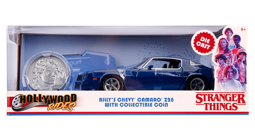 Model Car - 1:24 Stranger Things Chevy 1979 Camaro with Coin Bill