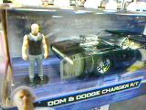Model Car - 1:24 F&F Dodge1969 Charger (w/ Dom Toretto Figure)