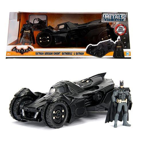 Model Car - 1:24 Arkham Knight - Batmobile & Batman