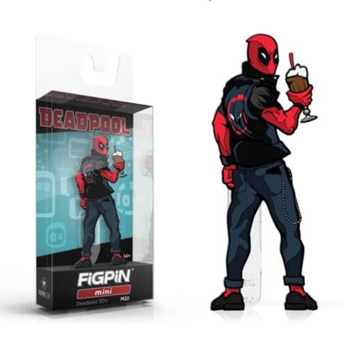 Deadpool 50s Mini FiGPiN #M22 Enamel Pin
