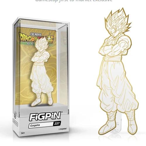 Dragon Ball Z Gogeta FiGPiN #237 Enamel Pin