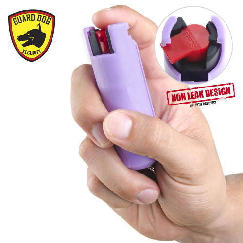 Hard Case Pepper Spray (LILAC)