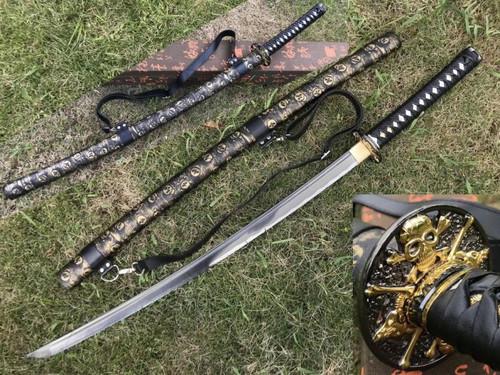 Pirate Theme Samurai Sword 1045 Handmade
