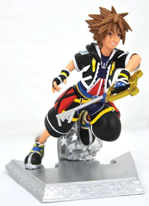 Kingdom Hearts Sora Gallery Statue