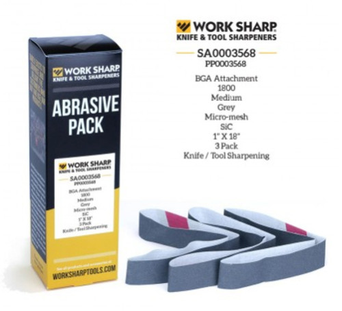 1800 Grit Abrasive Belt (Blade Grinding Attachment) Work Sharp