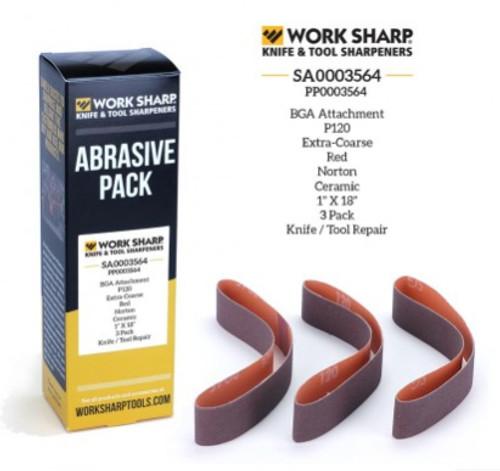 P120 Ceramic Abrasive Belt (Blade Grinding Attachment) Work Sharp