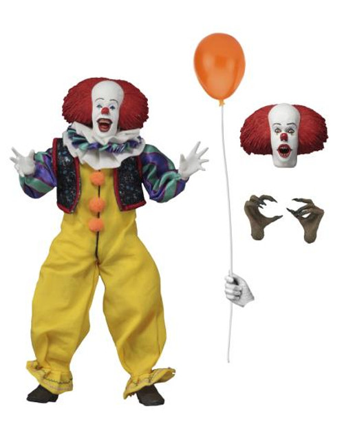 """Pennywise """"IT"""" (1990) – 8"""" Scale [Clothed] (AF)"""