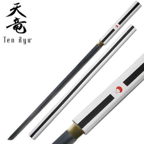 Naruto Anime Sasuke Handmade Sword (WHITE)