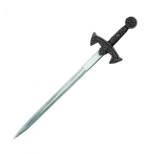 """Crusader Sword (SILVER) Letter Opener 7.5"""""""