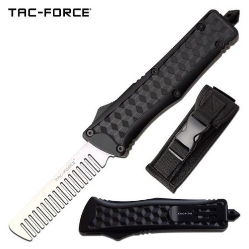 Tac-Force Carbon OTF Beard Comb