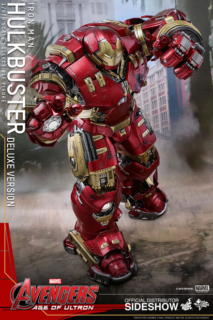 Figure Marvel - Hulkbuster (Deluxe Version) 1:6 Sixth Scale Figure (Hot Toys)