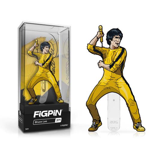 Bruce Lee FiGPiN #371 Enamel Pin