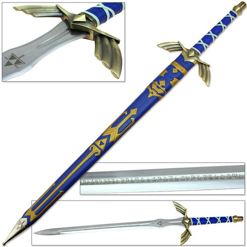 Legend of Zelda Master Sword (Full Tang)