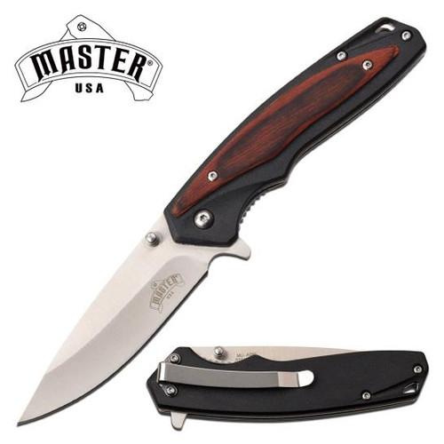 Master BK / Pakkawood Handle AO Pocket Knife