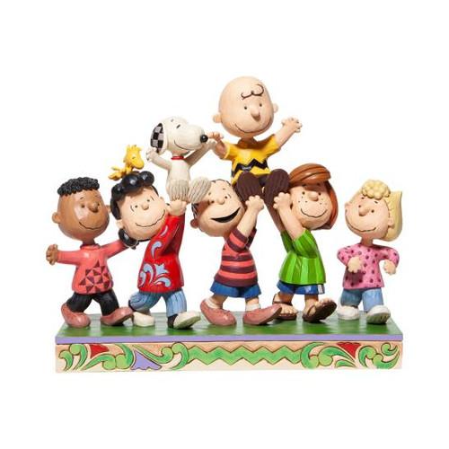 Iconix Peanuts Gang Statue Jim Shore