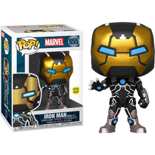 Pop! Iron Man 555 Glow-in-the-Dark Vinyl Figure