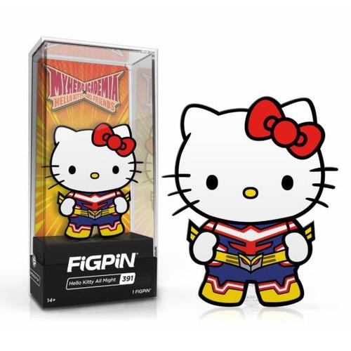 My Hero Academia x Sanrio Hello Kitty All Might FiGPiN #391 Enamel Pin