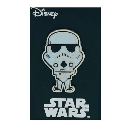 Star Wars Stormtrooper Enamel Color Lapel Pin