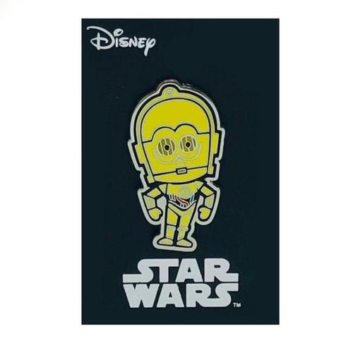 Star Wars C-3PO Enamel Color Lapel Pin