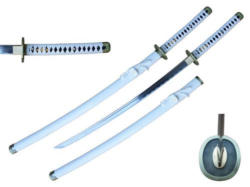 Zoro Handmade Anime Sword (WHITE) Hand Forge 1045