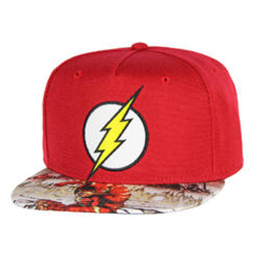 Hat - Flash Red Logo/Design