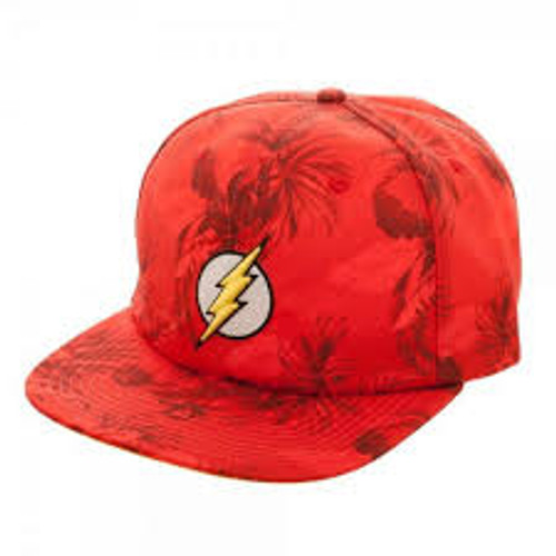 Hat - Flash DC Red Floral