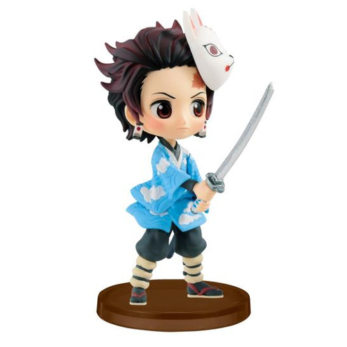 Demon Slayer Tanjiro Kamado Kimetsu no Yaiba petit vol.1 Banpresto Q Posket