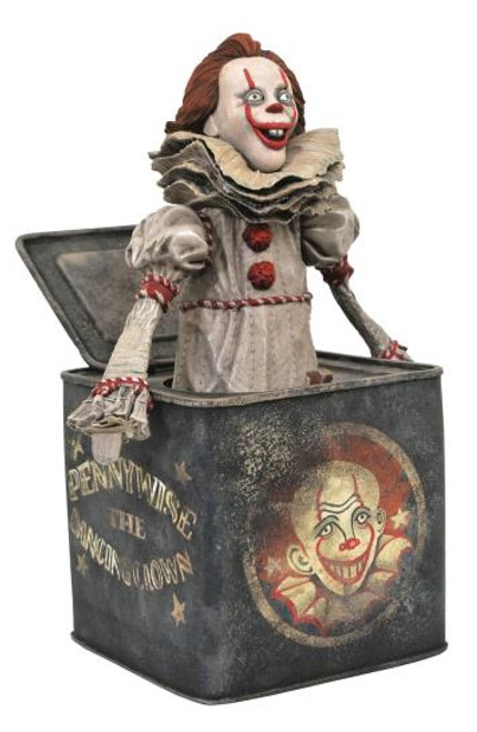 IT 2 Pennywise In a Box Gallery Statue