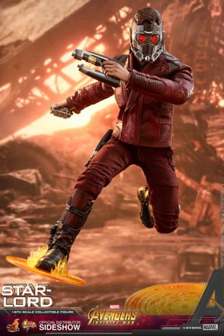 "Figure Marvel - Star-Lord ""Avengers: Infinity War"" Sixth Scale Figure (Hot Toys)"