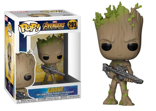 Pop! Avengers: Infinity War Groot w/Blaster #293 Vinyl Figure